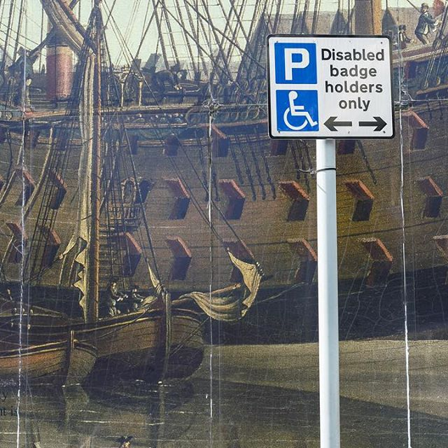 Galleon parking only